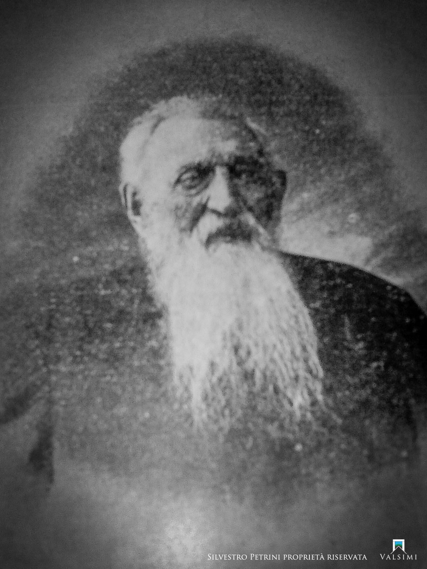"""Silvestro Petrini nato a Bisenti (Teramo) il 1 gennaio 1812, morto a Chieti il  25 gennaio 1812 - Immagine concessa dalla Biblioteca Provinciale """"A.C. De Meis"""" di Chieti"""
