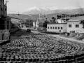 Mattonelle di asfalto presso lo stabilimento di Scafa (Pescara)